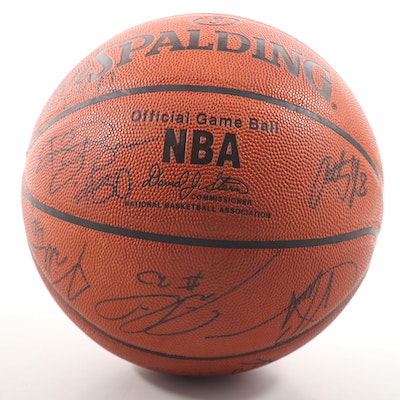 "Orlando Magic Autographed NBA ""Official Game Ball"""