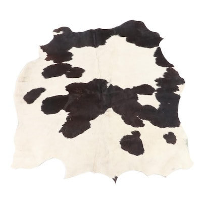 5'2 x 6'5 Natural Cowhide Area Rug