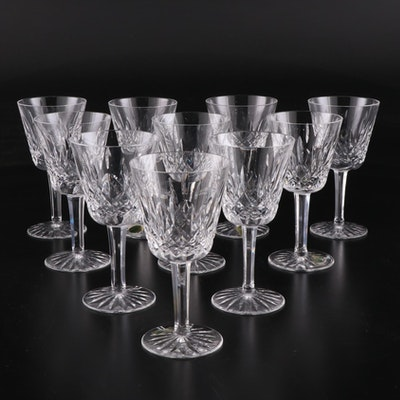"Waterford Crystal ""Lismore"" Claret Glasses"