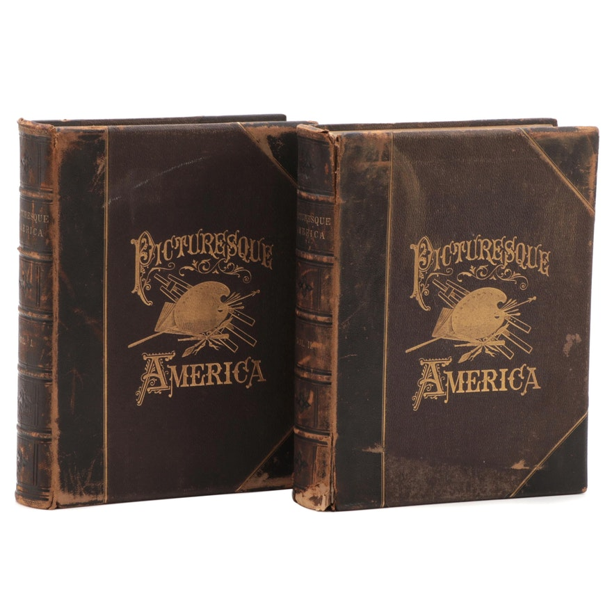 """Picturesque America,"" Vol. I-II, edited by William Cullen Bryant, 1872-1874"