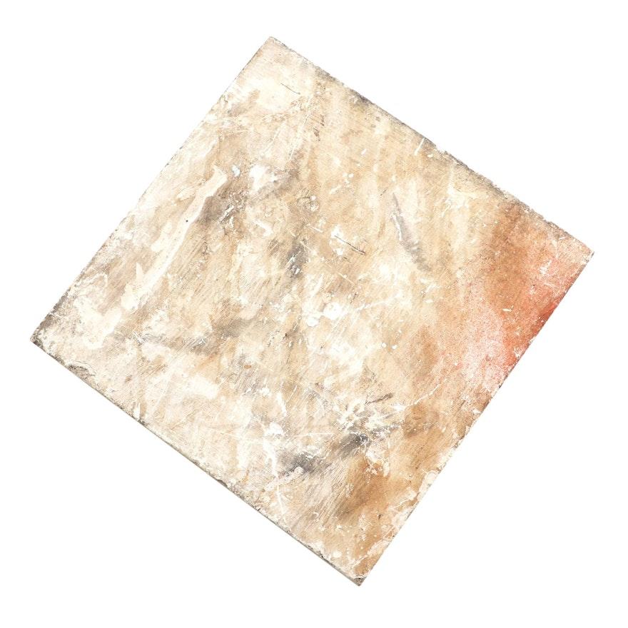 Rookwood Pottery Tile Blank, 1886
