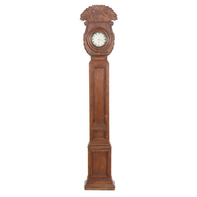 Chapman Hand Carved Long Case Clock,Early to Mid 20th Century