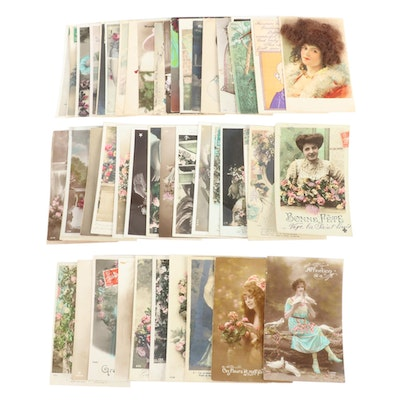Assorted Postcards, Early to Mid 20th Century