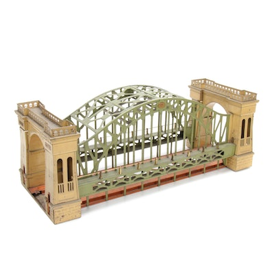 Lionel Pre-War Hellgate Bridge Model 300 O Scale Train Accessory