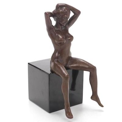 Linda Ackley-Eaker Bronze Sculpture, 2002