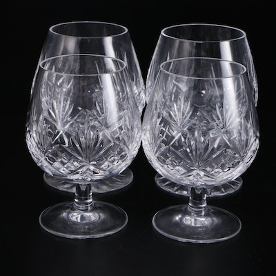 "Tiffany & Co. ""Newport"" Crystal Brandy Glasses, 1988–1999"