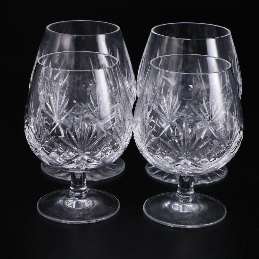 "Tiffany & Co. ""Newport"" Crystal Brandy Glasses, 1988–1999"