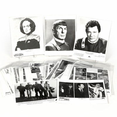Reproduction Photos of Star Trek TV and Movie Production Stills