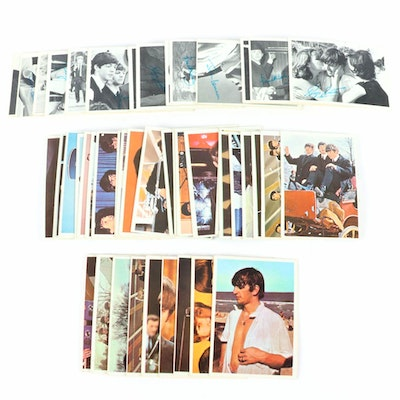 """Fifty-Six Topps """"Beatles"""" Trading Cards, Mid-20th Century"""