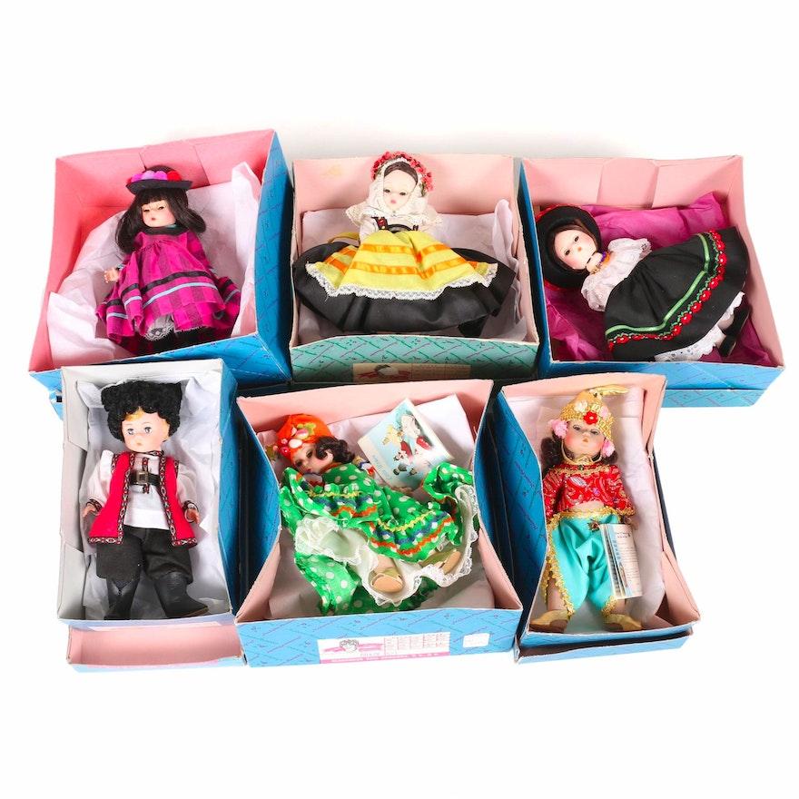 """Madame Alexander """"Little Women International"""" Dolls, 1980s"""