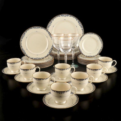 "Lenox ""Liberty"" Porcelain Dinnerware, Mid to Late 20th Century"