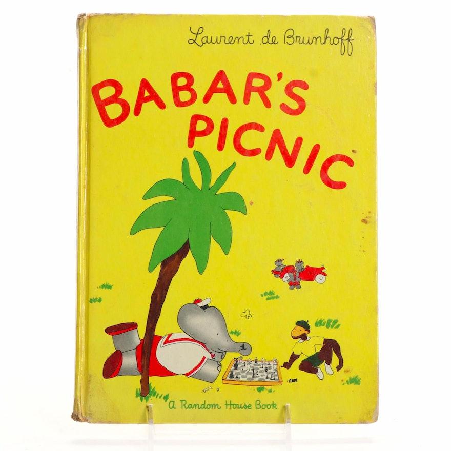 """Babar's Picnic"" by Laurent de Brunhoff, 1949"