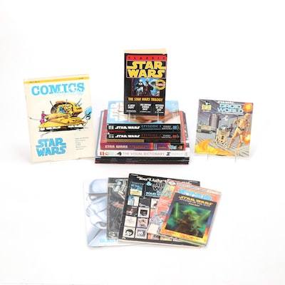 "Star Wars Books and Collectibles with ""Classic Star Wars"" Signed Book"
