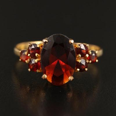 8K Garnet Ring