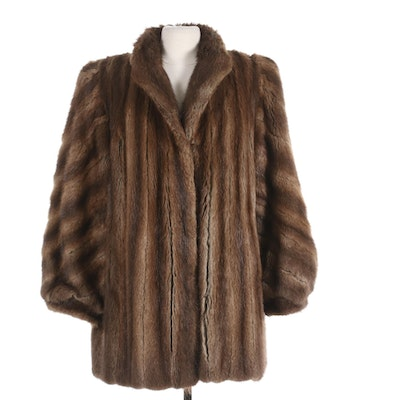 Dittrich Mink Fur Coat