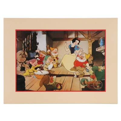 "The Disney Store ""Snow White and the Seven Dwarfs"" Offset Lithograph Still, 1994"