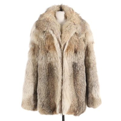 Fox Fur Coat from Willmann's Furriers