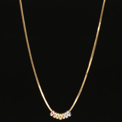14K Snake Chain Necklace