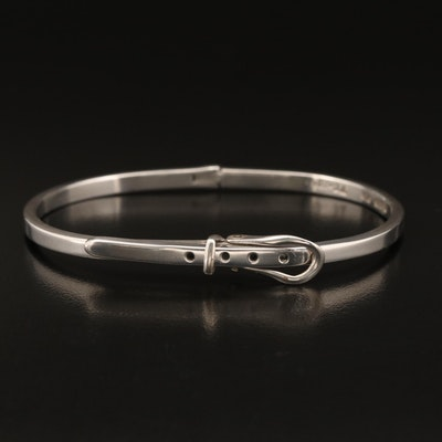 Mexican Sterling Buckle Bracelet