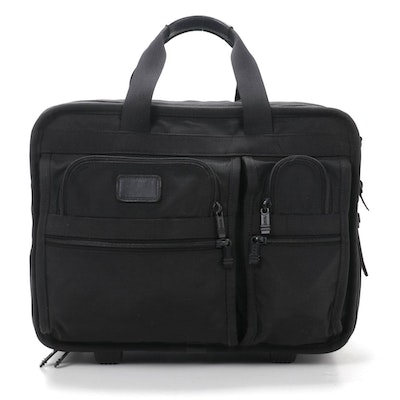 Tumi Carry-On Bag in Black Nylon