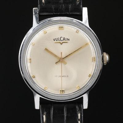 Vintage Vulcain Stem Wind Wristwatch