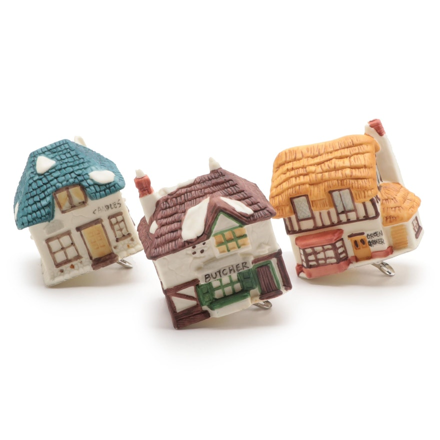 """Department 56 """"Dickens' Village"""" Clip On Light Ornaments"""