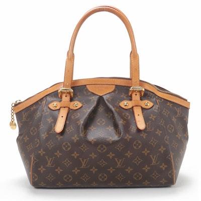 Louis Vuitton Tivoli Satchel in Monogram Canvas and Vachetta Leather