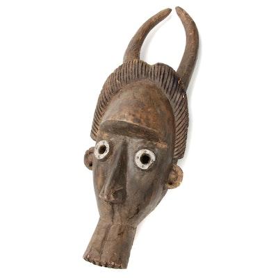 West African Buffalo Spirit Mask