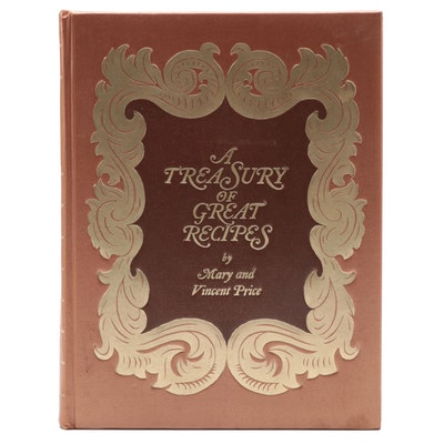 "Illustrated ""A Treasury of Great Recipes"" by Mary and Vincent Price, 1974"