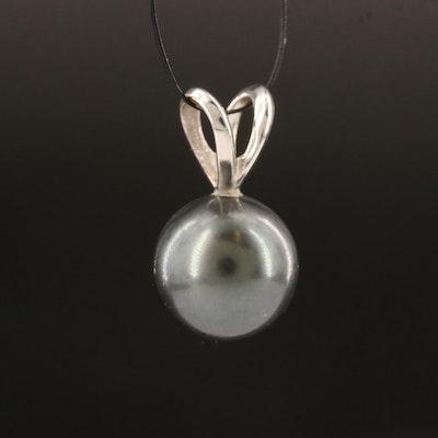 18K Pearl Pendant