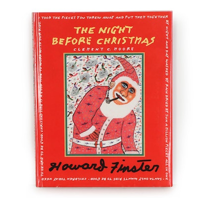 "Howard Finster 1996 ""The Night Before Christmas"" by Clement C. Moore"