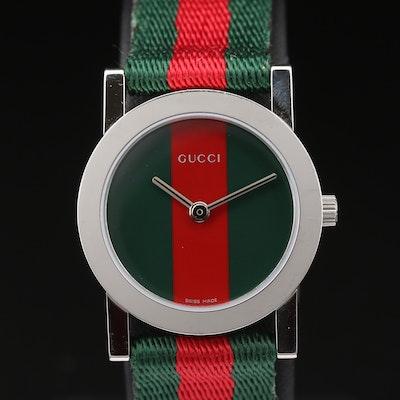 Gucci 5200L.1 Stainless Steel Quartz Wristwatch