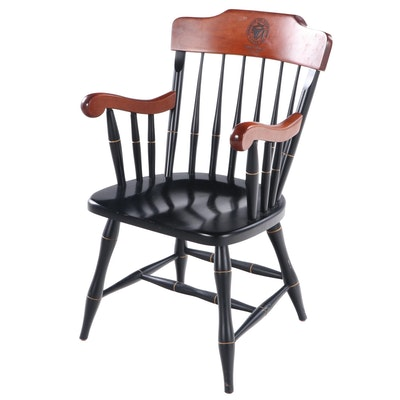 Standard Chair of Gardner Ebonized Windsor Chair, Fort Worth County Day School