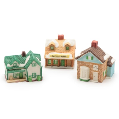 "Department 56 ""New England Village"" Clip Light Ornaments"