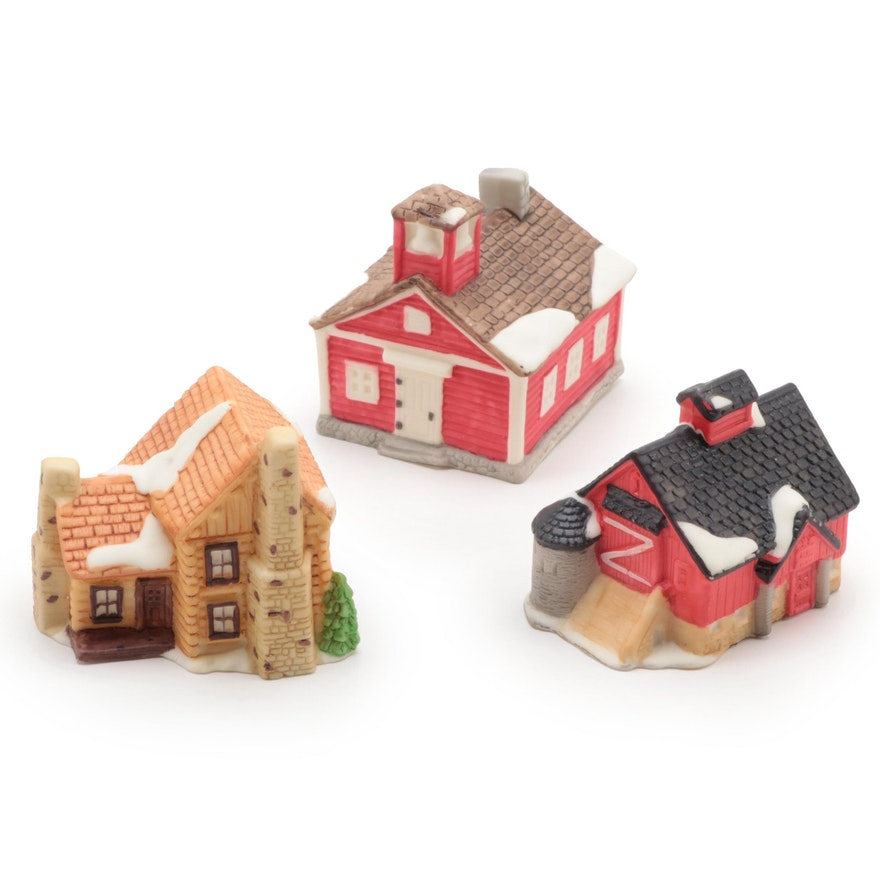 """Department 56 """"New England Village"""" Light Up Ornament Clips"""