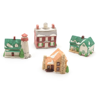 "Department 56 ""New England Village"" Light Up Ornament Clips"