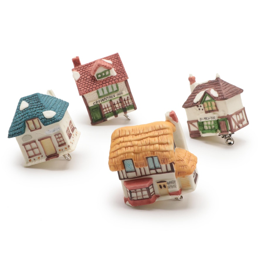 "Department 56 ""Dickens' Village"" Clip On Light Ornaments"