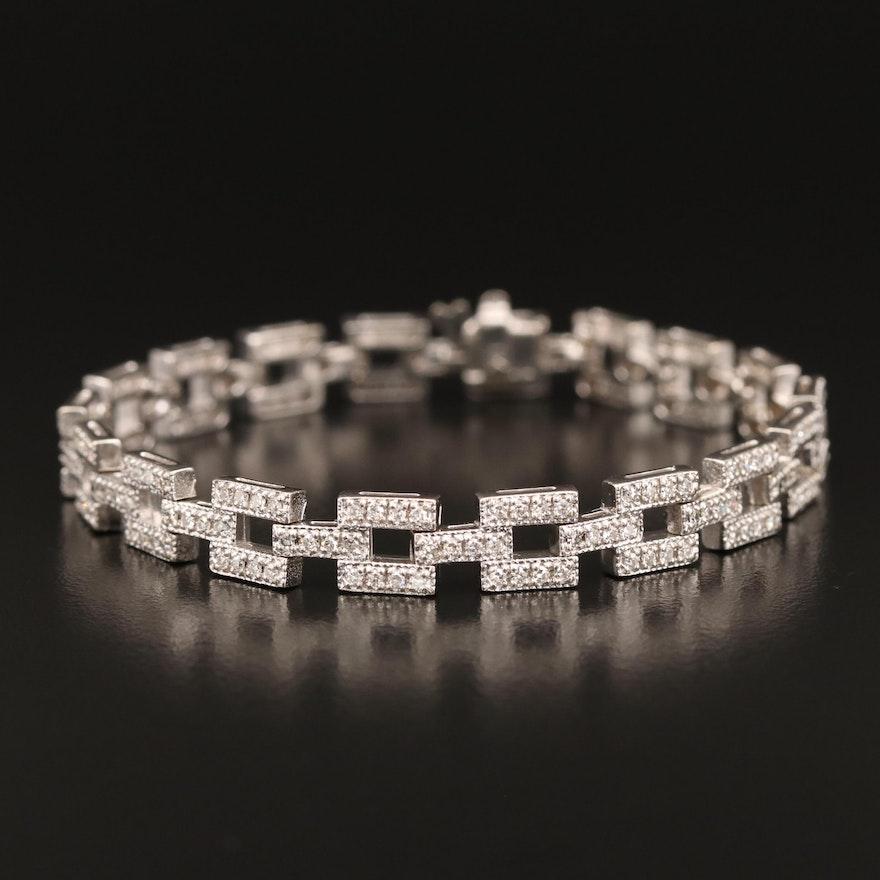 14K 2.02 CTW Diamond Bracelet