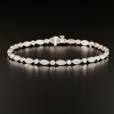 Tiffany & Co. Platinum 2.09 CTW Diamond Bracelet
