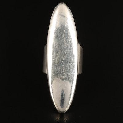 Sam Piaso Zuni Sterling Silver Pointer Ring