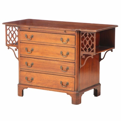 Charak Furniture Co. Chippendale Style Mahogany Chest of Drawers, 1934
