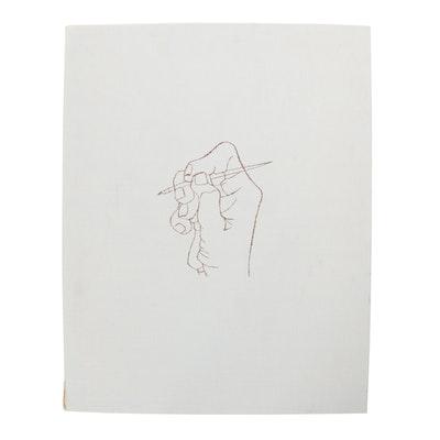"""Ben Shahn Lithograph Portfolio """"For the Sake of a Single Verse,"""" 1968"""