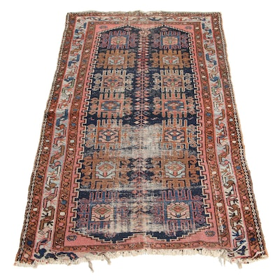 3'1 x 6'1 Hand-Knotted West Anatolian Turkish Wool Rug
