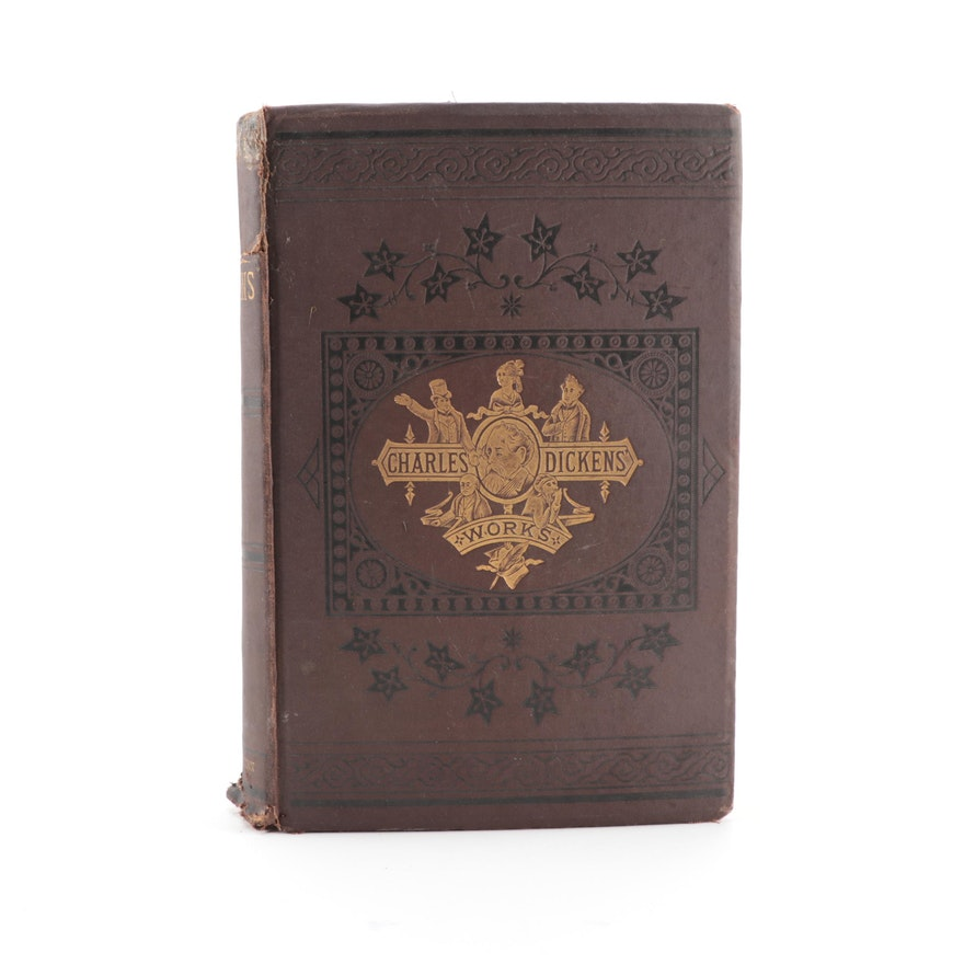 """""""The Works of Charles Dickens"""" Collier's Unabridged Edition Vol. I, 1879"""