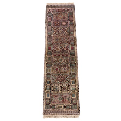 1'6 x 6'2 Hand-Knotted Indo-Persian Baluch Carpet Runner