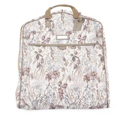Jordache Floral Tapestry Garment Bag