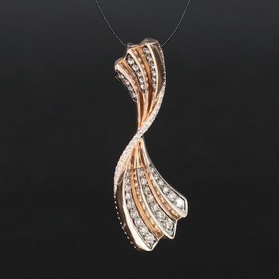 Le Vian 14K 1.01 CTW Diamond Pendant