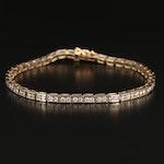 14K 1.90 CTW Diamond Link Bracelet