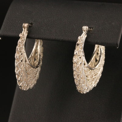 Scrollwork Earrings