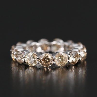 14K 4.50 CTW Diamond Eternity Band